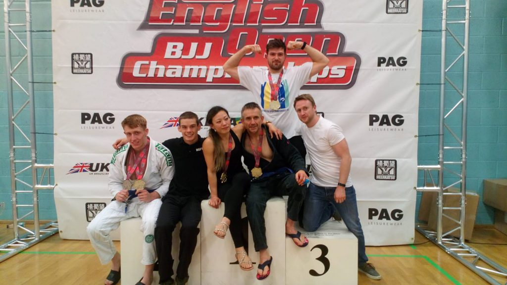 Oxford BJJ Competition Photo