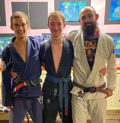 BJJ Oxford Blue Belt Promotion